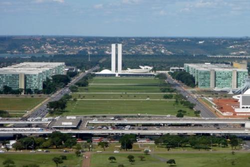 Explanada dos Ministerios, Eixo Monumental, Brasilia