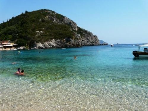 paleokastritsa-beach